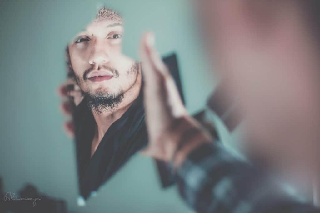 Ijdelheid voor de spiegel